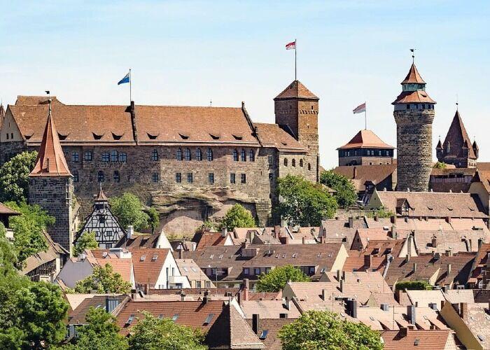 El Castillo de Núremberg es uno de los atractivos turísticos más importantes de la ciudad