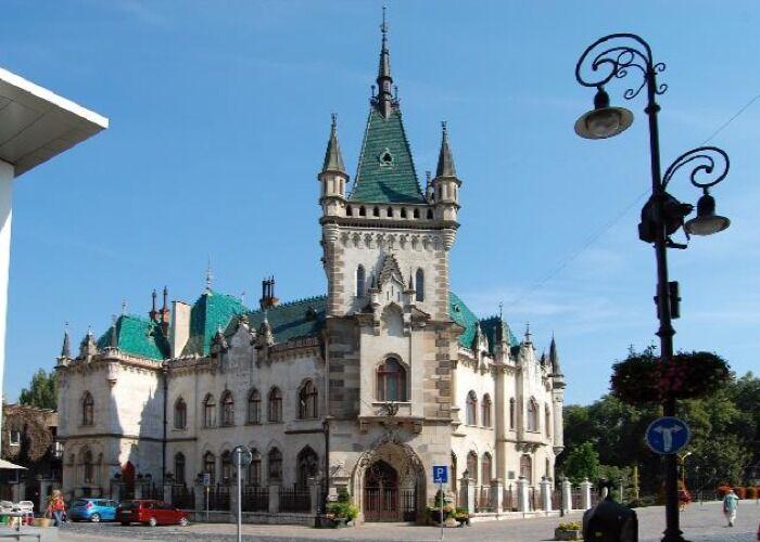 El Palacio Jakab es uno de los principales atractivos de la ciudad de Košice