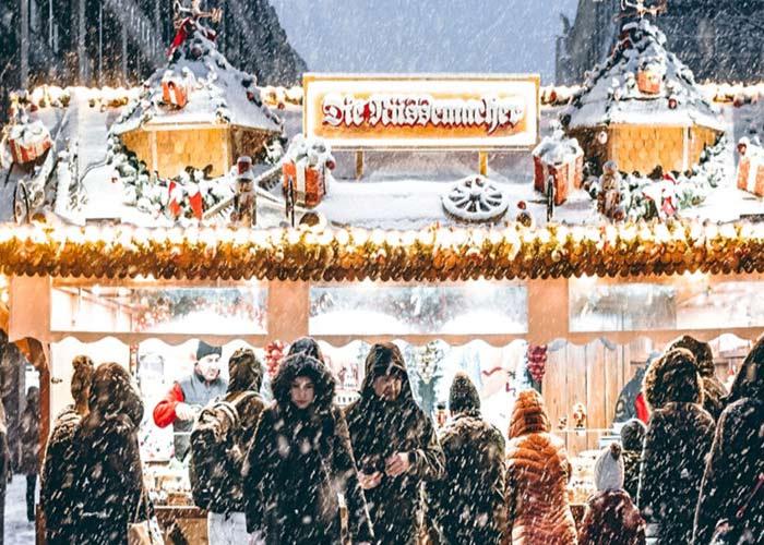 El Mercado Navideño de Leipzig recibe a miles de personas todos los años