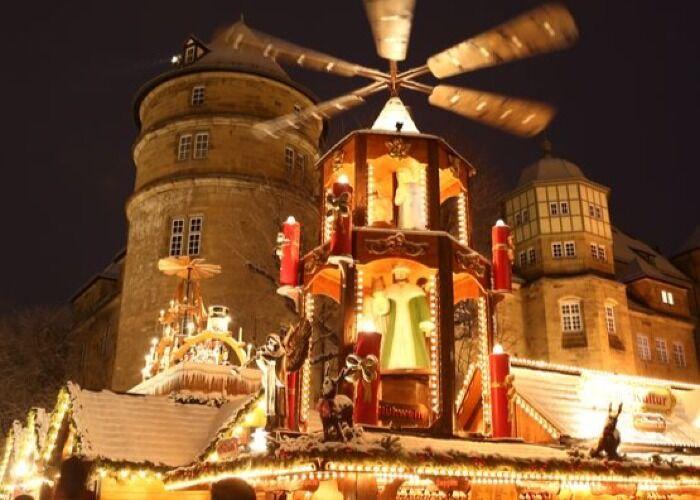 El Mercado Navideño de Stuttgart trae consigo miles de visitantes y atracciones