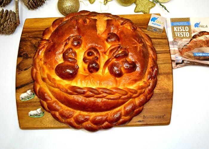 El poprtnik es un pan tradicional de navidad en Liubliana
