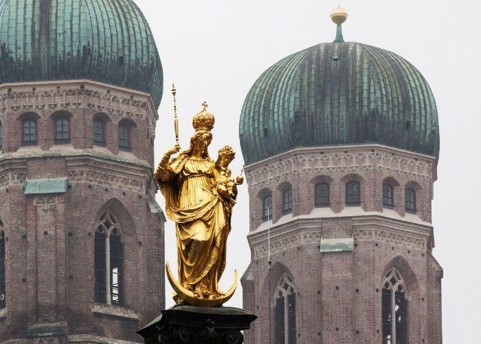 La Catedral de Múnich es uno de los atractivos turísticos más importantes de la ciudad
