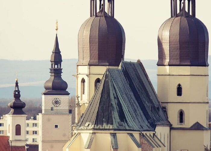 La Catedral de San Nicolás es uno de los puntos turísticos de la ciudad de Trnava