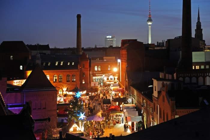 La ciudad de Berlín recibe con emoción el Mercado Navideño de Lucía