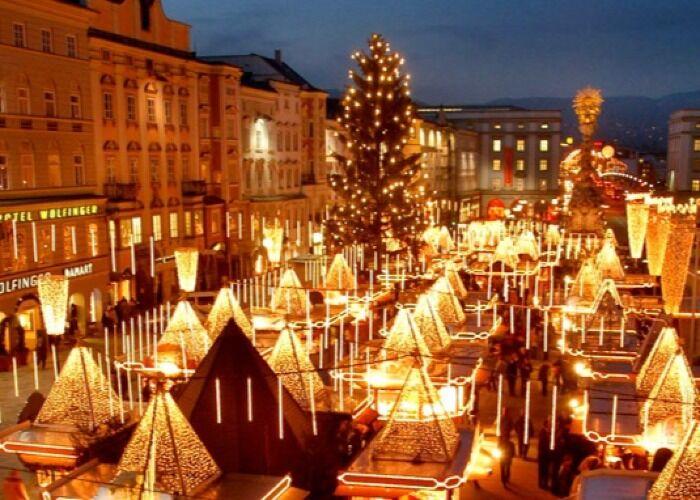 La ciudad de Linz recibe con emoción, música y luces el Mercado Navideño