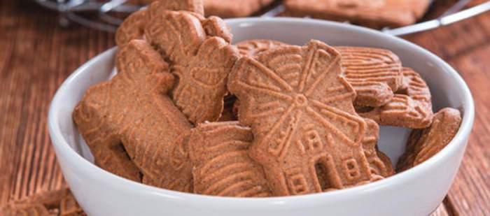 Las Spekulatius son pequeñas galletas navideñas típicas de Alemania