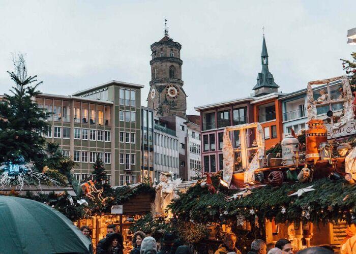 Miles de personas visitan cada año el Mercado de Navidad de Stuttgart
