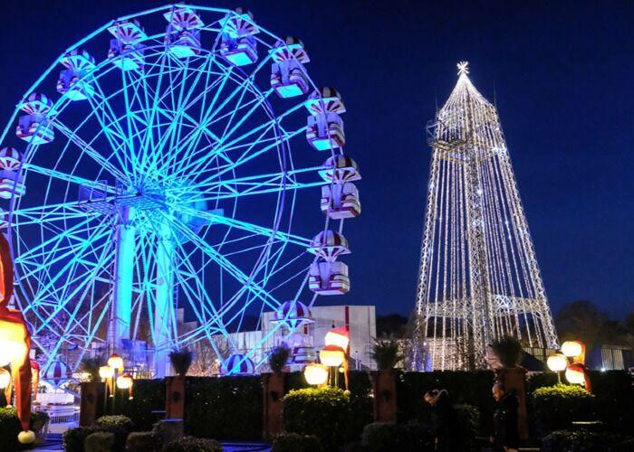 Toda la ciudad se llena de luces y colores para celebrar el Mercado Navideño de Tivoli Friheden