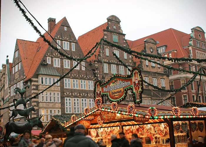 Todos los años miles de personas visitan el Mercado Navideño de Bremen