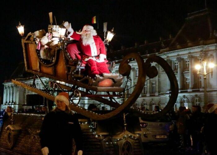 Toda Wavre se decora de navidad para recibir a los visitantes del Mercado Navideño