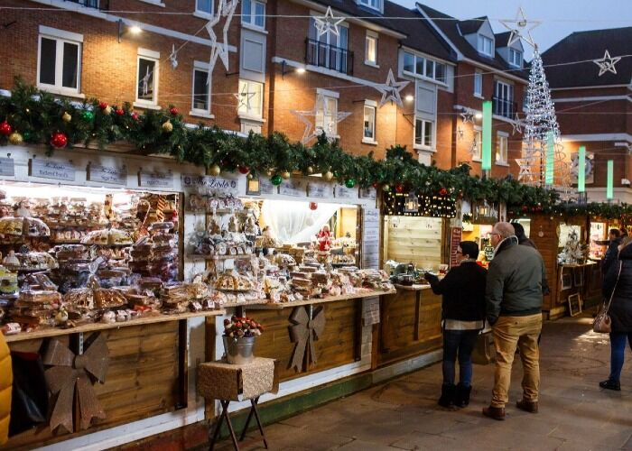 Cientos de puestos abren sus puertas cada año para el Mercado Navideño de Canterbury