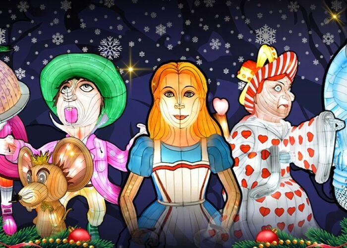 El Alice in Winterland en Londres es uno de los eventos más alegres y temáticos durante el invierno en Reino Unido