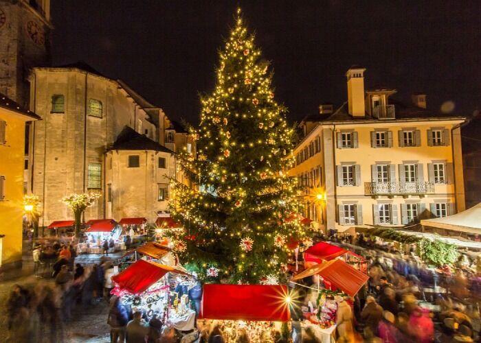 El Mercado Navideño de Santa Maria Maggiore en Piamonte es uno de los acontecimientos más esperados de la localidad