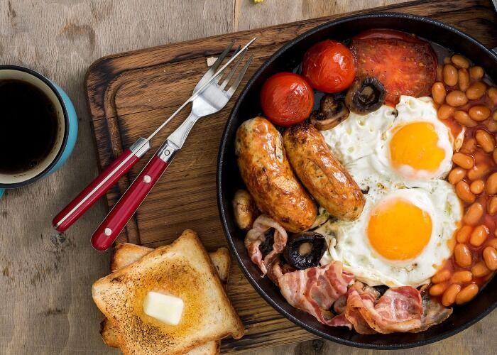 El desayuno inglés es uno de los platos más auténticos y preservados de la cocina inglesa