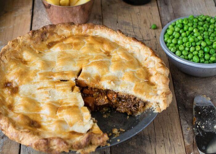 El pie de carne es uno de los clásicos de la cocina inglesa