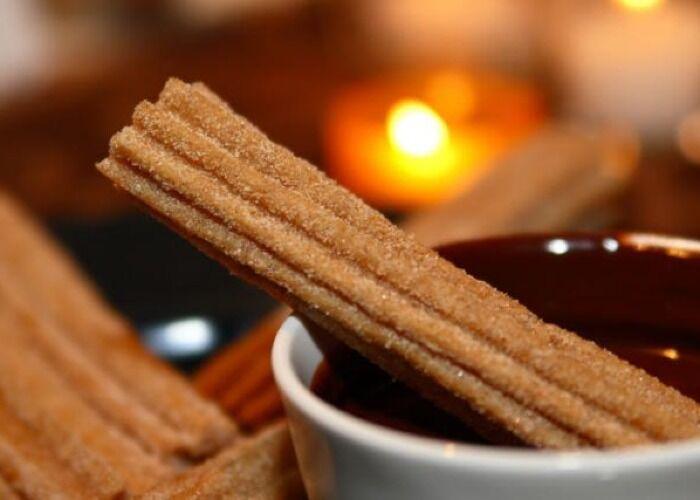 Los churros son uno de los bocadillos más populares durante el invierno