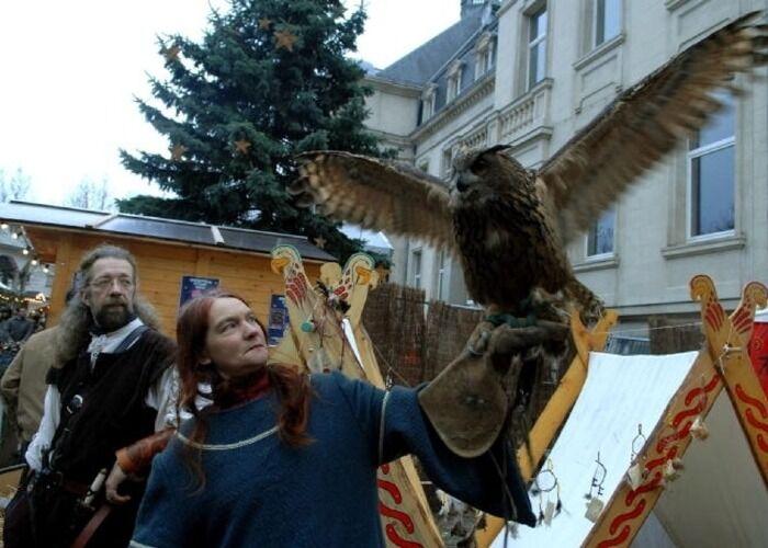 Podrás encontrar cientos de atracciones en el Mercado Navideño Medieval de Dudelange