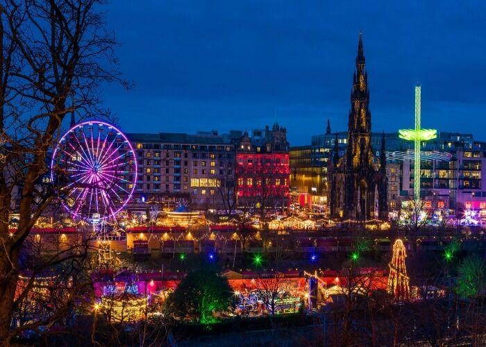 Todo es felicidad y alegría en la ciudad durante las fiestas decembrinas y los Mercados Navideños de Londres